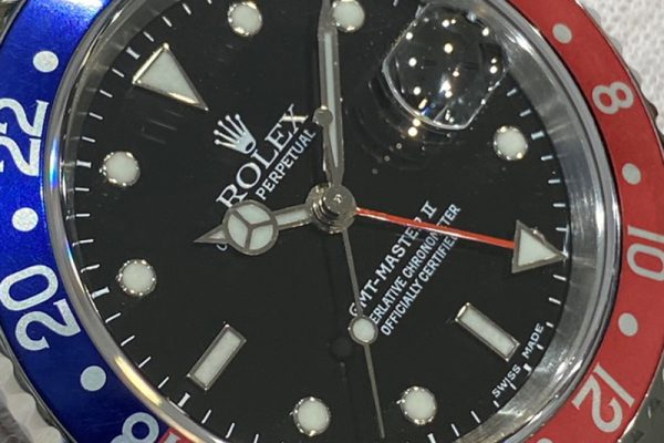 GMTマスターII Ref.126710BLROです!