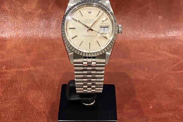 Vintage Rolex Ref.16030 Silver Dial