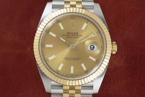 ROLEX DATEJUST41 Ref.126333