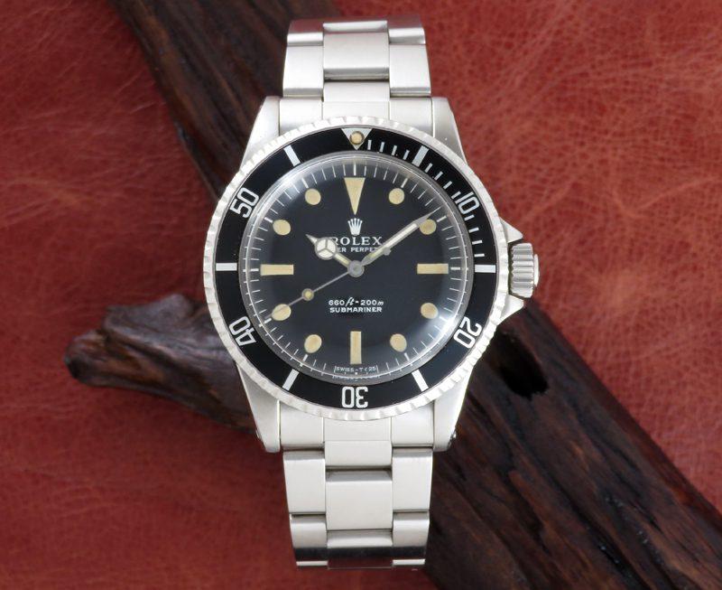 Vintage Rolex SUBMARINER Ref.5513
