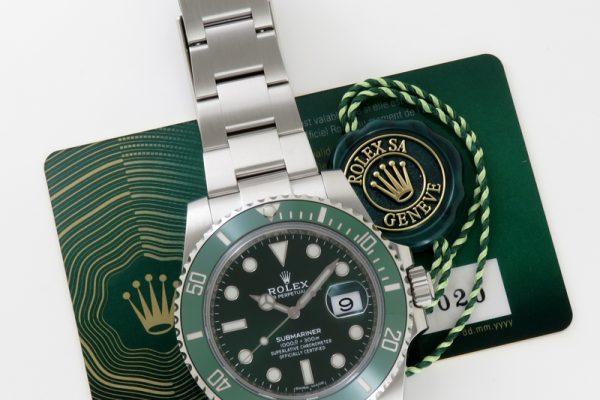 2nd GREEN SUBMARINER Ref.116610LV!!
